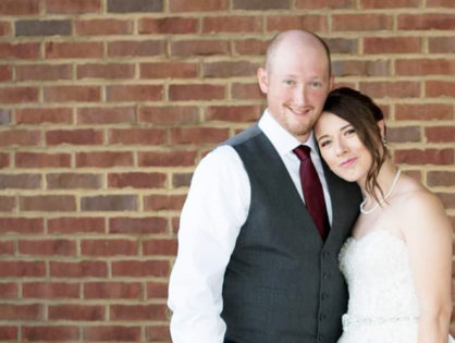 "Alisha & Aaron: ""My husband is the most amazing man! And he is alive only by the grace of God"""